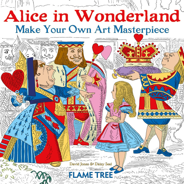 Alice in Wonderland (Art Colouring Book)