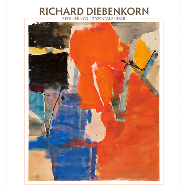 2020 캘린더 Richard Diebenkorn: Beginnings