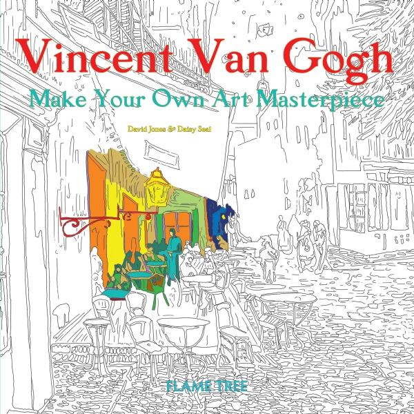 Vincent Van Gogh (Art Colouring Book)