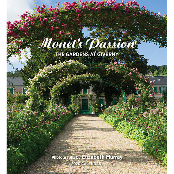 2020 캘린더 모네의 열정 Monet's Passion: The Gardens at Giverny