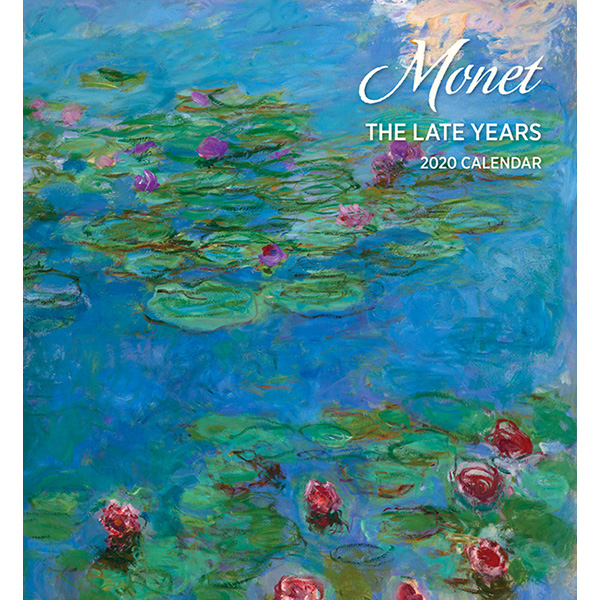 2020 캘린더 모네 Monet: The Late Years