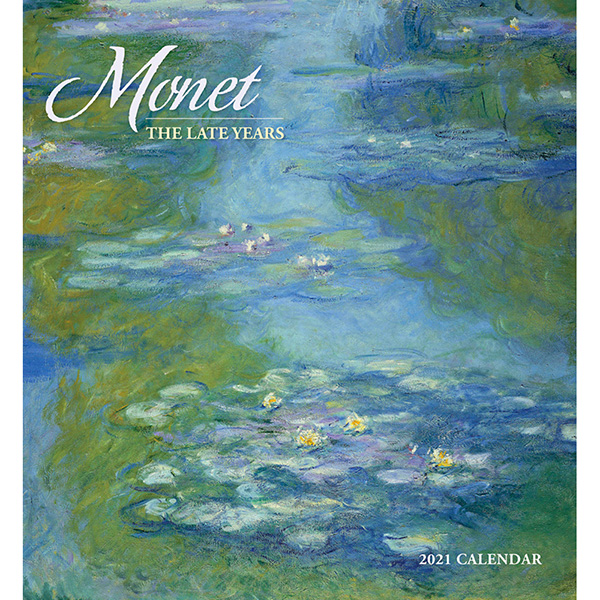 2021년 캘린더 모네 Monet: The Late Years