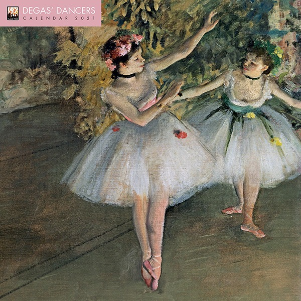 2021년 캘린더(FT) Degas' Dancers